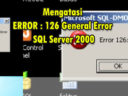 Mengatasi ERROR : 126 General Error SQL Server 2000